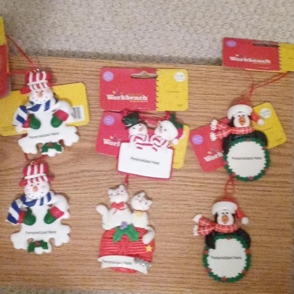 Lot of ornaments